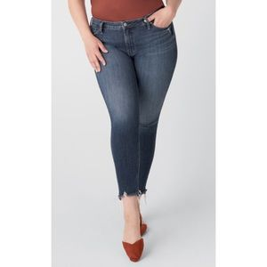 Silver Jeans Most Wanted Dark Wash Skinny Sz 18